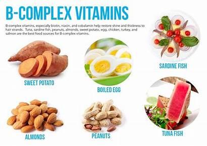 Complex Vitamins Vitamin Foods Rich Deficiency Loss