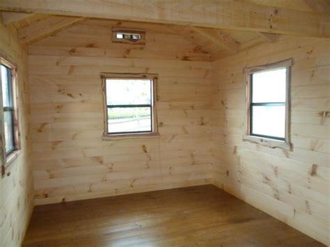 trophy amish cabins llc    lodge  porch