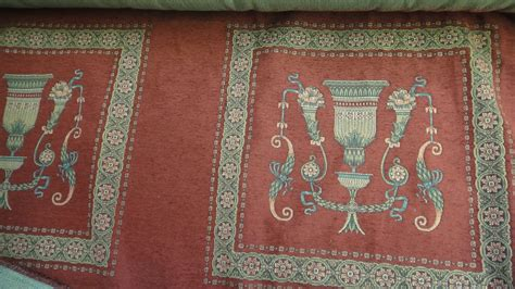 Country Upholstery Fabric by Vintage Upholstery Fabric Country Cotton Tapestry Chair