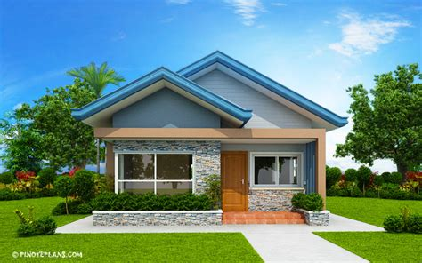 bedroom bungalow house plan shd  pinoy eplans