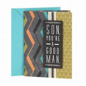 Hallmark Birthday Card For Son Good Man Great Son