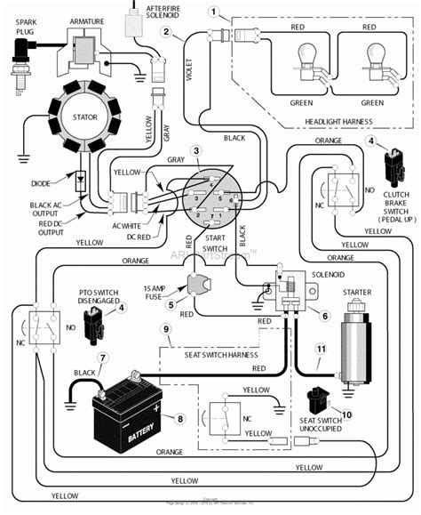 craftsman mower electrical diagram jeffdoedesign