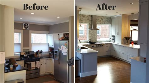Cheap Kitchen Makeover Ideas Before And After - kitchen renovation before and after trendyexaminer