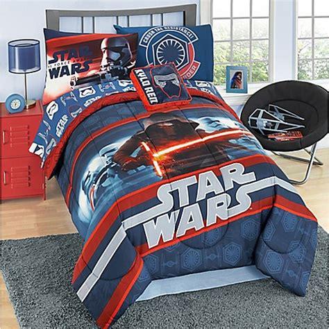 Wars Bed Sheets by Wars Episode 7 Reversible Comforter Set Bed Bath