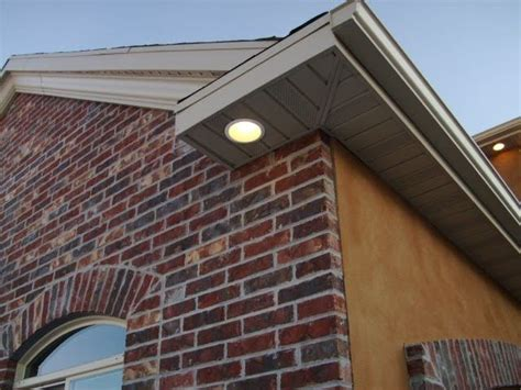 brighton electric soffit recessed lighting  images