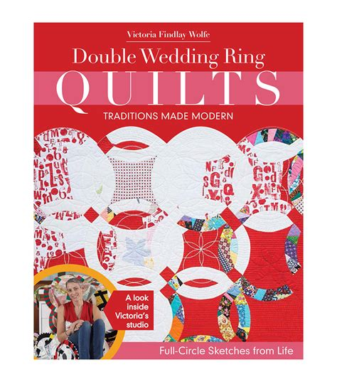 double wedding ring quilts book jo ann