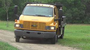 2008 Chevy C4500 Duramax Crew Cab With 12 U0026 39  Flat Bed