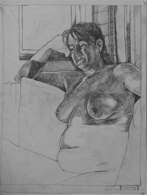 robin meyer student work figure drawing