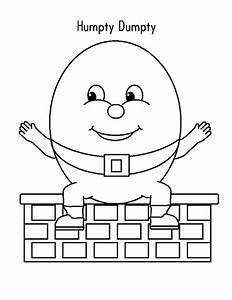 humpty dumpty coloring page bltidm inside pages auto With humpty dumpty puzzle template