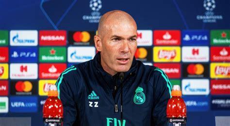 Real Madrid boss Zinedine Zidane admits he is