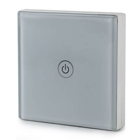 home hotel wireless remote touch wall light panel
