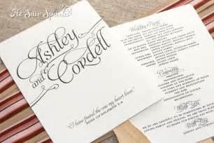 Free Printable Wedding Program Fan Templates
