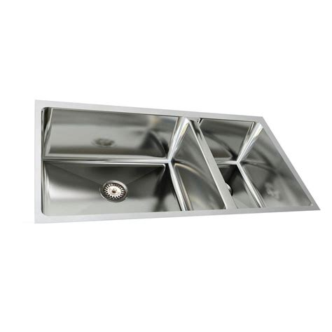 Pegasus Stainless Steel Undermount Kitchen Sinks by Kohler Staccato Top Mount Stainless Steel 33 In 1