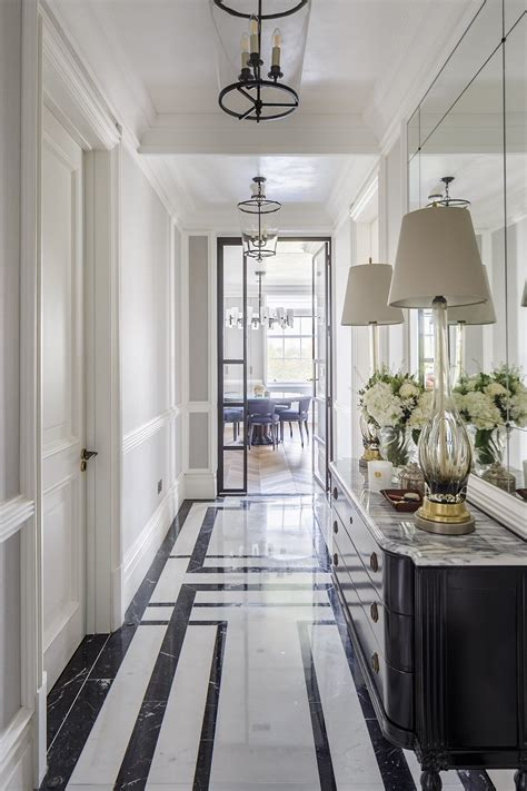 marble entryway  mayfair  gunter  interiors hall