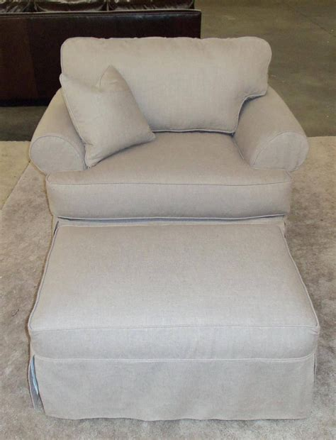chair and ottoman covers t cushion slipcovers for large sofas ottomans t cushion