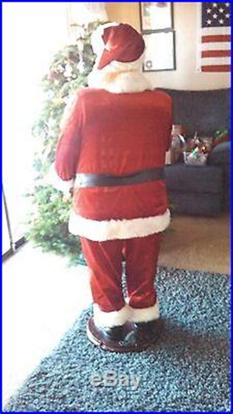 foot animated singing  talking santa claus christmas