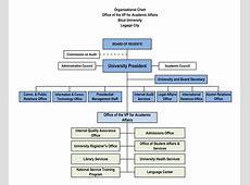 University Organizational Chart BU University Administration