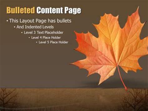 autumn abstract  powerpoint template