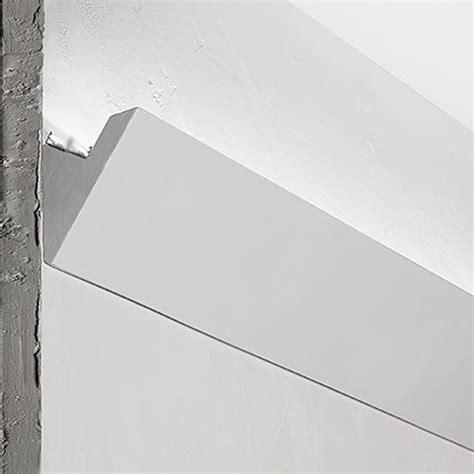 applique angolari 3 metri cornice angolare in gesso illuminazione indiretta