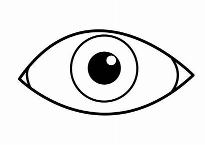 Coloring Eye Coloriage Pages Oeil Eyes Para