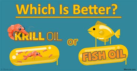 The Advantages Of Krill Oil Over Fish Oil
