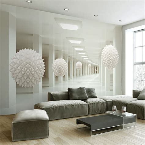 10 Living Room Designs With Wall Murals by 39 Living Room Wallpaper Murals Brick Wallpaper Decor