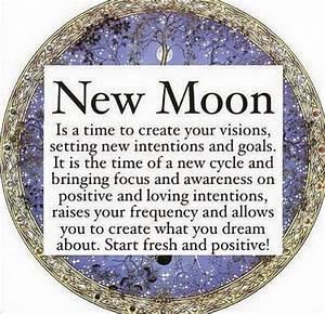 New Moon December 29th 2016