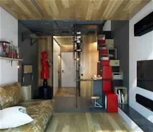 Idée Déco Petit Appartement : am nager un petit appartement gagner de la place dans un ~ Zukunftsfamilie.com Idées de Décoration