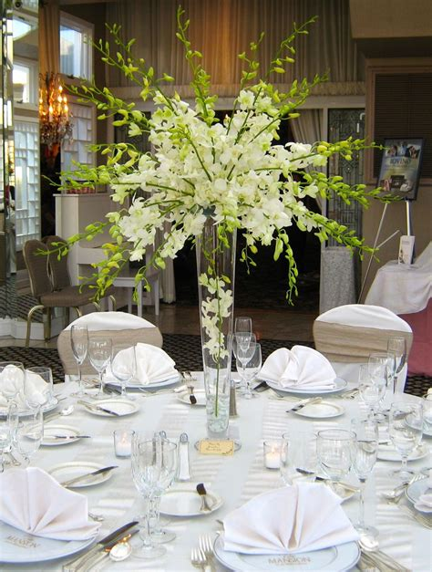 Stunning And Elegant All White Dendrobium Orchid