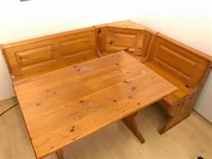 Eckbank Aus Holz : urchige eckbank mit tisch aus holz kaufen auf ricardo ~ Watch28wear.com Haus und Dekorationen