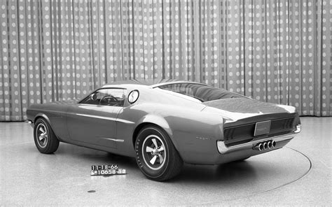 Ford Mustang Mach 1 Concept 1966 Widescreen Exotic Car
