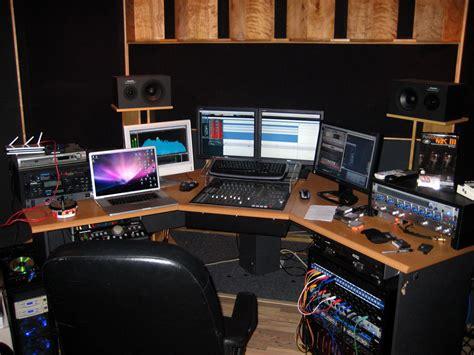 home studio mixing desk recording studio furniture workstation joy studio design