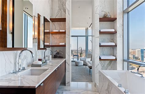 20 Modern Stylish Bathroom Shelving Ideas (with Pictures