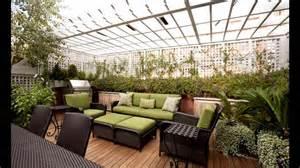 decoration home interior creatiive rooftop garden design ideas