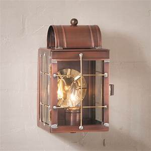 Entry, Door, Wall, Light, Antique, Copper, Colonial, Candle, Lantern, Outdoor, Sconce, Deck