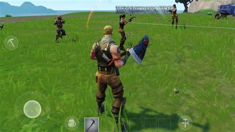 pubg mobile  fortnite mobile  portable battle