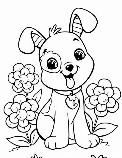 Puppy Coloring Printable Pages
