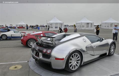2007 Bugatti Veyron 16.4 Pur Sang At The Concorso Italiano