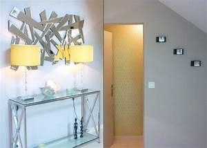 decoration entree avec miroir With porte d entrée alu avec miroir deco salle de bain