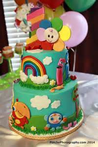 Baby First TV Birthday Cake