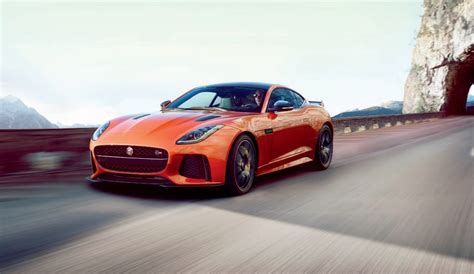 575-horsepower 2017 Jaguar F-type Svr Leaks Ahead Of