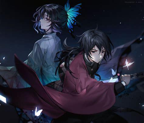 anime demon slayer kimetsu  yaiba giyuu tomioka