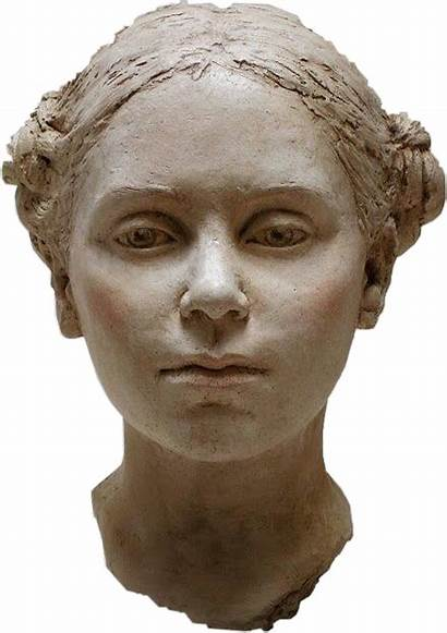 Statue Stone Face Head Marble Sculpture Aesthetic