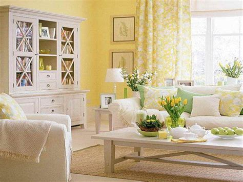 sunny yellow living room pictures   images