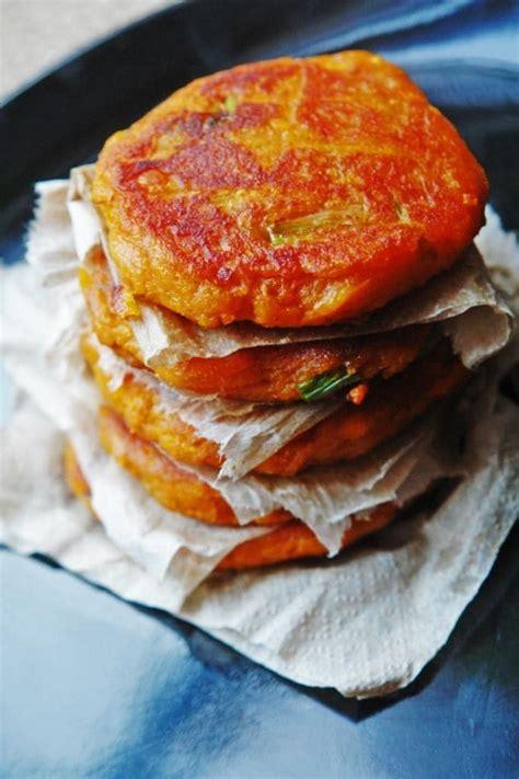 vegan sweet potato cakes recipe cookinghackscom