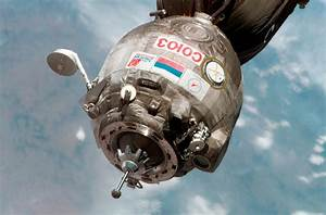 Roscosmos ESA Space Soyuz as seen from ISS 3006x1979 ...