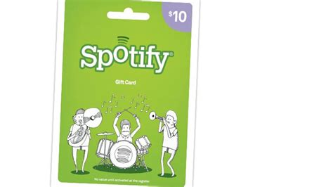 Spotify Gift Cards Arrive At Us Target Stores Giraffe Christening Gifts Newborn Jaundice Present On Admission Xmas Ultimate Husband Print Kitchen Mom Experience For Best Friends Crystal Central