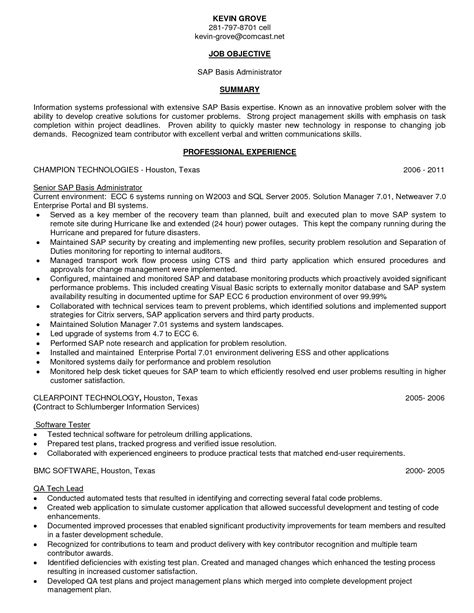 erp consultant sle resume cia analyst cover letter