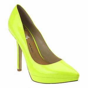 LOOOOOVE Pointy toe platform pump with all leather