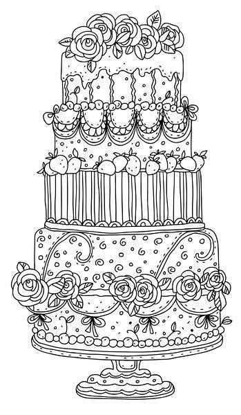 beautiful wedding cake   garden  peaches adult